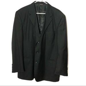 Caravelli Men's Striped Suit Jacket 46R